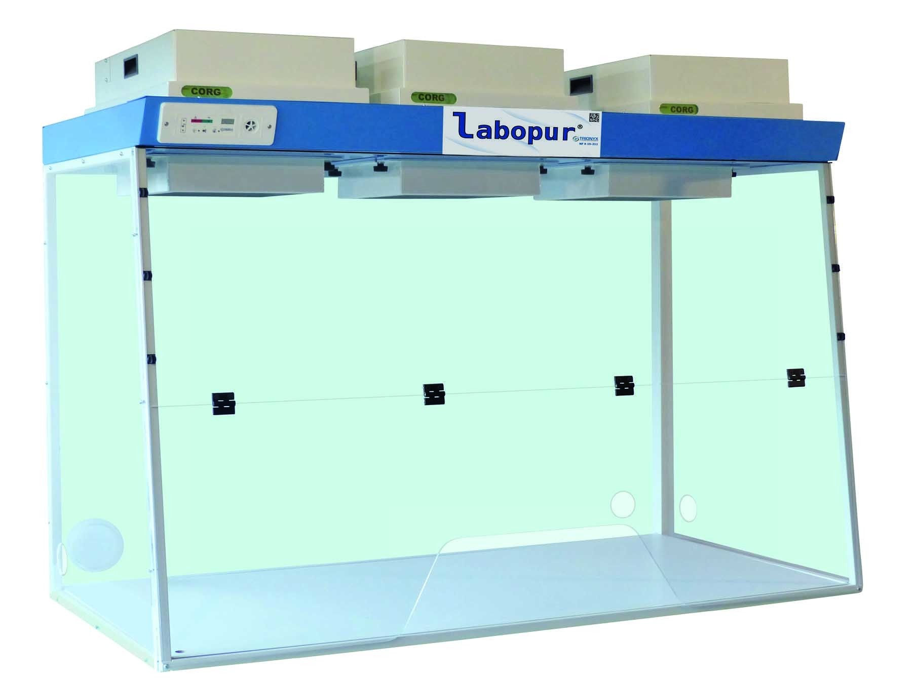 Filterkasten, exsiccator- & opslagkasten